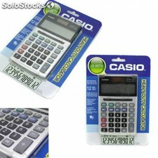 Calculadora js-20TV casio 12 digitos pantalla xl