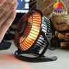 Calefactor de Mesa Desktop Electric Heater DE200, Anunciado en TV