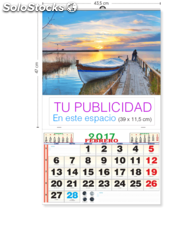 Calendario de pared (43,5 cm)