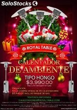Calentador para exteriores - Royal Table.