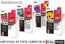 Calipage cartucho compatible inkjet canon bci3/6c c4