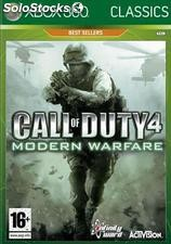 Call of duty 4 modern warfare clasi/X360