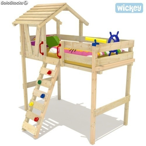 Cama alta Wickey Winney's Hut
