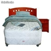 Cama Americana cic Box americano 1 pl. Excellence + Textil + Muebles Kennedy