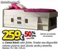 Cama block color fitche