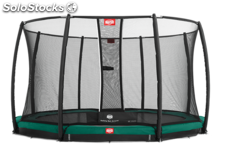 Cama elástica berg elite+ red seguridad inground red 380