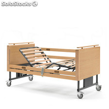 Cama Electrica Elevable Madera 'LOW'