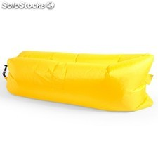 Cama inflable amarillo