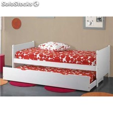 Cama nido color blanco