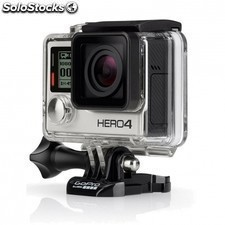 Camara de accion gopro hero 4 black edition adventure - 12mp - video4k30 -
