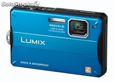 Cámara de fotos compacta Panasonic DMC-FT10EG-A Outlet 14.1Mp zoom 4x LCD 2.7""
