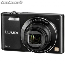 "Cámara de fotos compacta panasonic dmc-SZ10EG-k Full hd 16MP 2.7"" zoom 12X con"