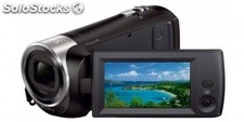 Camara de video memoria flash sony HDRCX240EB.cen full hd,con micro sd