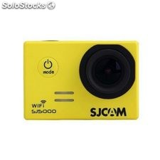 Cámara de video SJCam SJ5000 wifi yellow