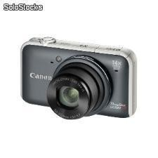 Cámara digital Canon power shot sx220 hs gris 12.1 mp z14x 28mm LCD 3 FULL HD
