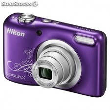 Camara digital nikon coolpix A10 lila - 16.1MPX - zoom optico 5X - tft