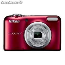 ✅ camara digital nikon coolpix A10 roja 16,1 mpx zoom optico 5X graba video