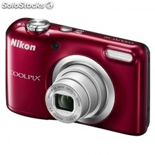 Camara digital nikon coolpix A10 roja - 16.1MPX - zoom optico 5X - tft