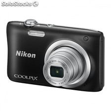 Camara digital nikon coolpix A100 negra - 20.1MPX - zoom optico 5X - tft