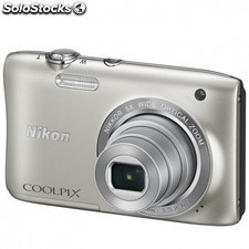Camara digital nikon coolpix s2900- 20.1mpx - zoom optico 5x - digital 2x -
