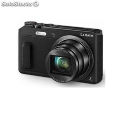 "Camara digital panasonic lumix TZ57EG-k negra 16Mp zoom 20X pantalla 3"" wifi"