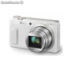 "Camara digital panasonic lumix TZ57EG-w blanca 16Mp zoom 20X pantalla 3"" wifi"