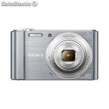 ✅ camara digital sony dsc-W810 plata 20,1 mpx zoom optico 6X graba video hd