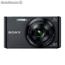 ✅ camara digital sony DSCW830B negra 20,1 mpx zoom optico 8X graba video hd