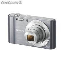 ✅ camara fotos sony DSCW810S plata 20.1MP 27.1M