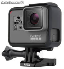 Camara gopro hero 5 black 12 Mp, 4K, Sumergible