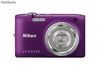 CAMARA NIKON COOLPIX S2800 KIT PURPURA