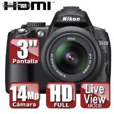Camara nikon d3100 (sd 2gb de regalo)