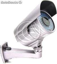 Cámara Profesional CCTV Soporte Pared (54xIR-LED Varifocal 3.5m-8mm) (VV72)