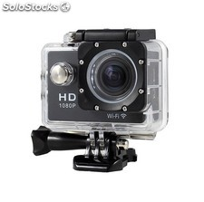 Camara sport video HD1080P Wifi negra