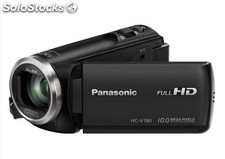 Camara video panasonic HCV180 fhd Negra