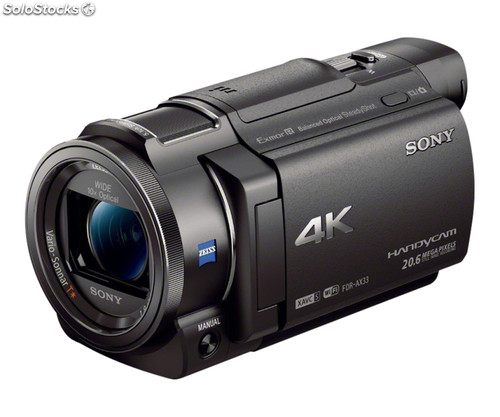 Camara video sony FDRAX33B 4K Wifi nfc
