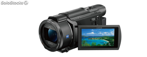 Camara video sony FDRAX53B 4K Wifi nfc