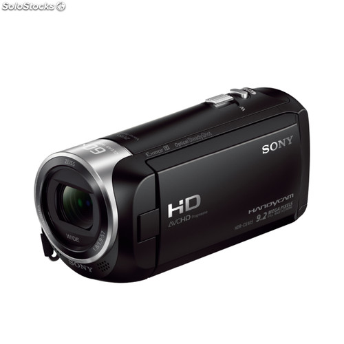 Camara video sony HDRCX405B Zeiss Negra