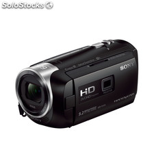 Camara video sony HDRPJ410 Wifi nfc Negra