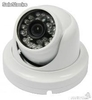 "Camera dome aluminium blanc 1/3"" hd 800 tvl"