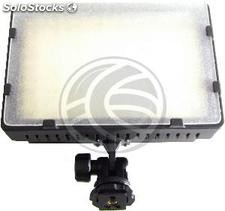Camera led Lamp w 13,70 228LED bateria externa (EH96)