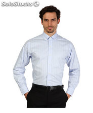 camicie uomo brooks brothers blu (30438)