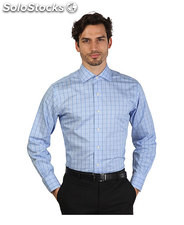camicie uomo brooks brothers blu (30441)
