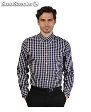 camicie uomo brooks brothers blu (30446)