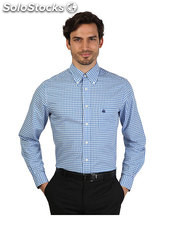 camicie uomo brooks brothers blu (30451)
