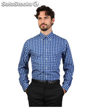 camicie uomo brooks brothers blu (30452)