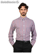 camicie uomo brooks brothers rosso (30415)