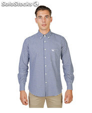 camicie uomo oxford university blu (38315)
