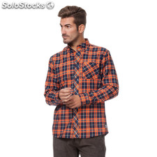 Camisa aspen cuadros - the indian face - 8433856042498 - 15-002-10-xs