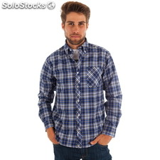 Camisa florida de cuadros - cuadros - the indian face - 8433856031249 -